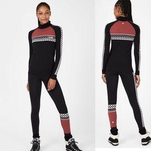 NWT Sweaty Betty Betty Ski Base Layer suit 2pc S